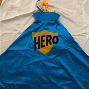 Gymboree Blue Super Hero Cape NWT (7-12)